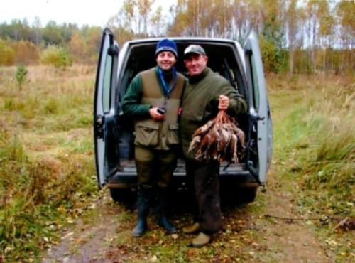 Ricordi Estoni con l'amico fraterno Sante detto mendico